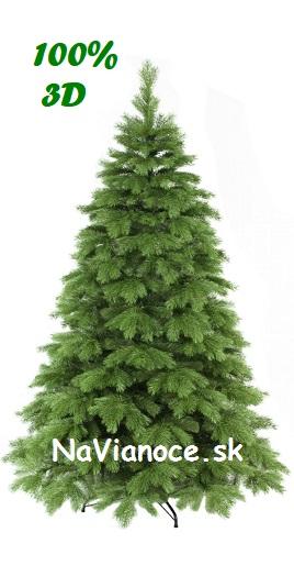 borovicový vianočný stromček 100% 3d