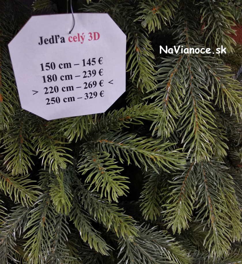 celé 3d vianočné stromčeky na Vianoce