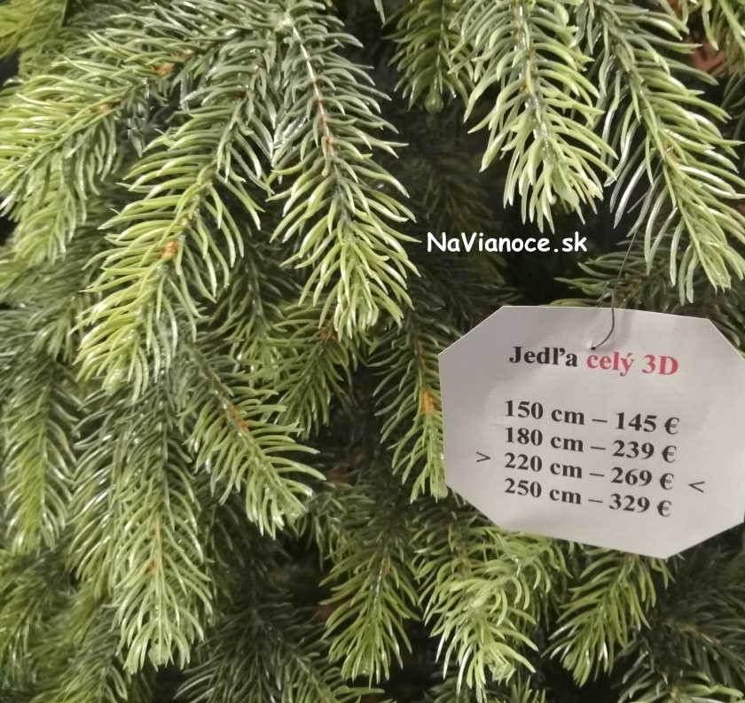 vianočný stromček celý 3d na Vianoce