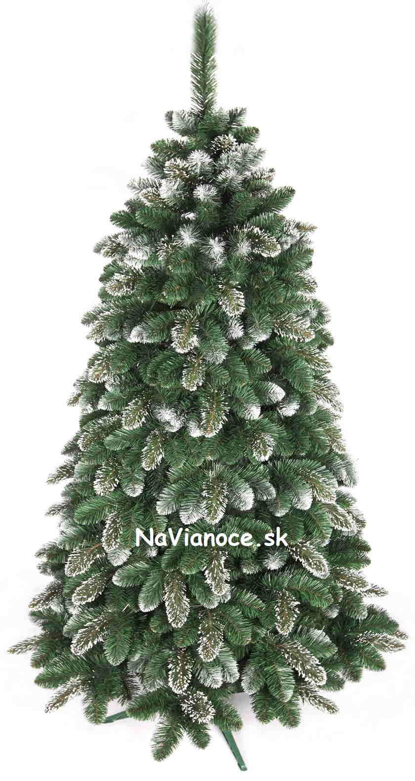 vysoký snehový vianočný stromček