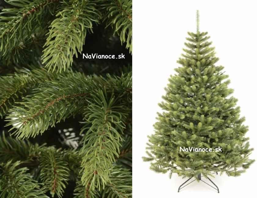 3d vianočné husté stromčeky