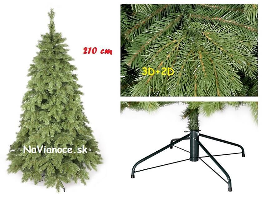 vianočný stromček 210 cm