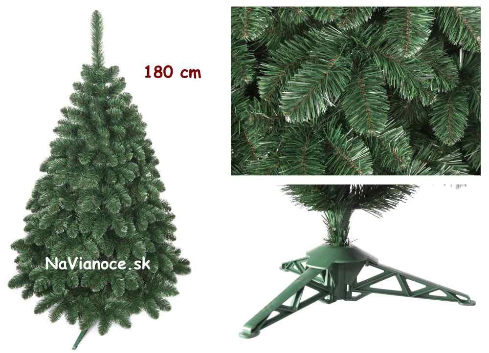 klasický vianočný umelý stromček borovica 180 cm