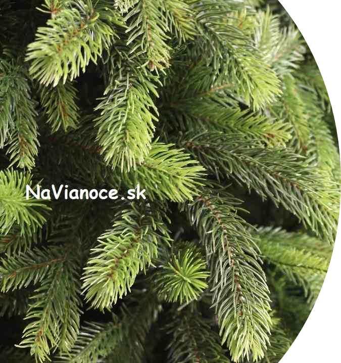 robustný kvalitný umelý vianočný stromček 3d ihličie