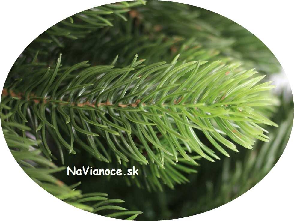 umelý vianočný stromček 3d ihličie