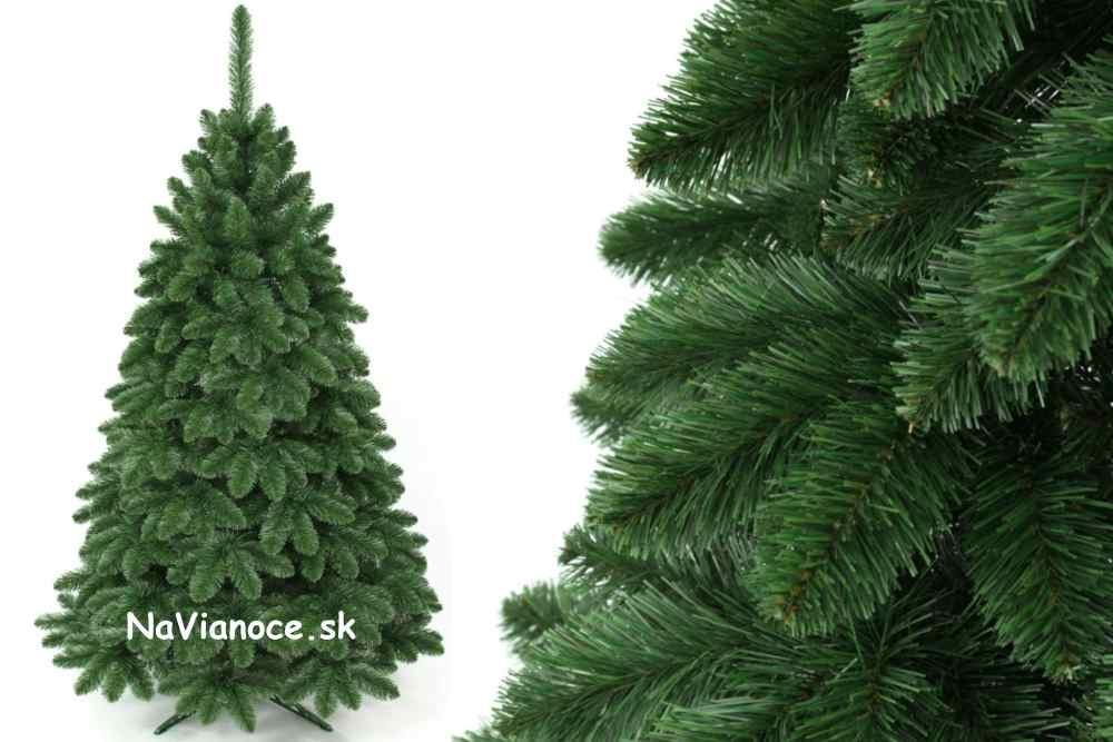 umelý vianočný stromček borovica klasické vianočné ihličie