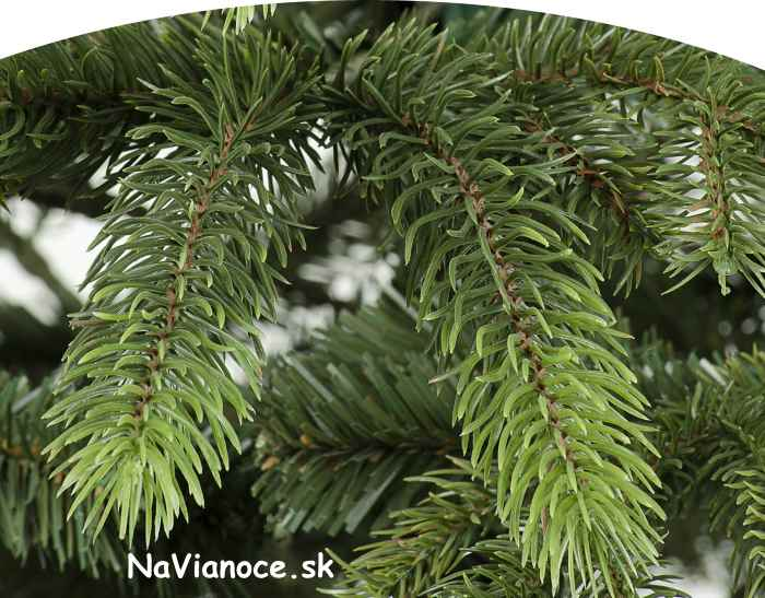vianočné ihličie 3D, vianočné stromčeky
