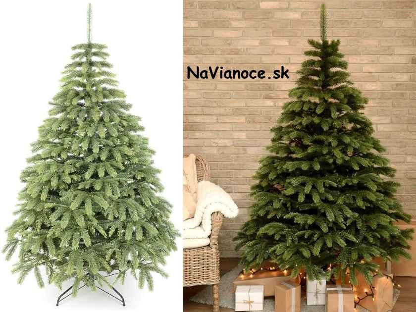 vianočné stromčeky umelé husté