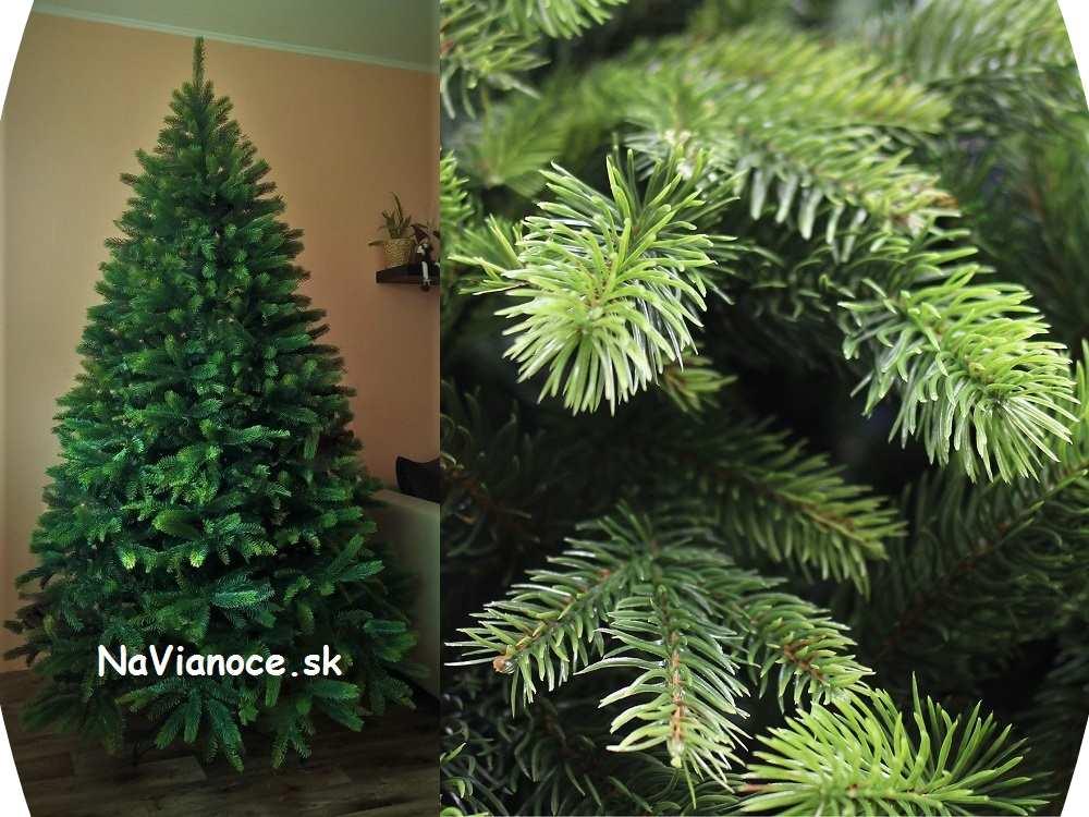 vianočné stromčeky umelé husté vysoké 3d ihličie
