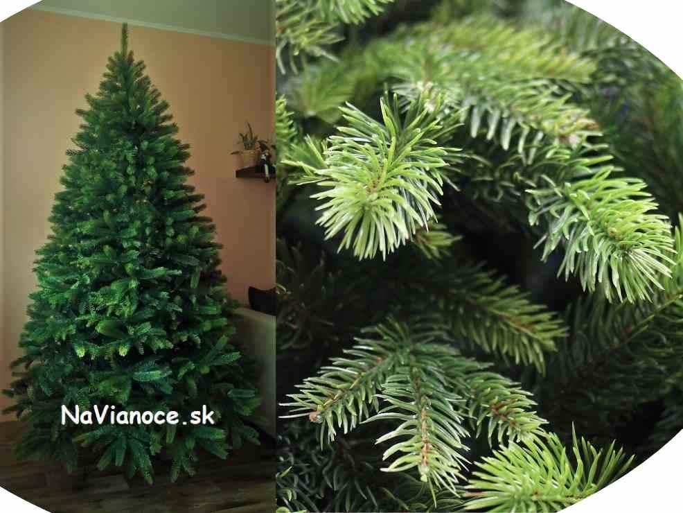 vysoký a moderný kvalitný vianočný stromček